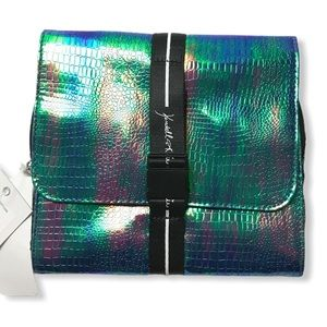 Kendall + Kylie Blue Iridescent Hanging Case
